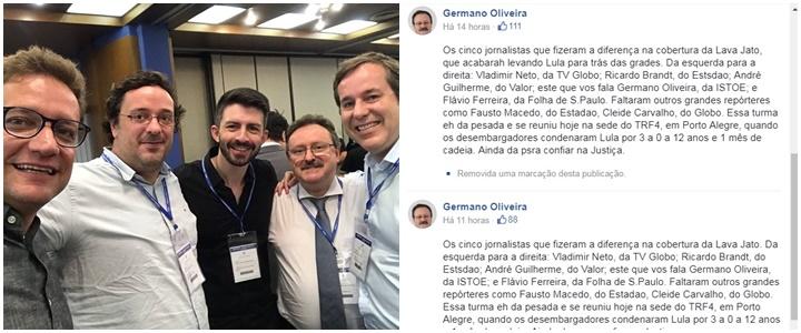 jornalistas julgamento de Lula TRF 4