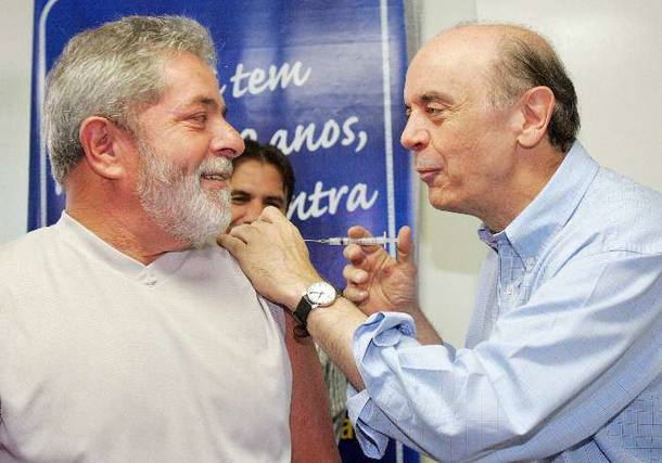 Lula José Serra PGR justiça