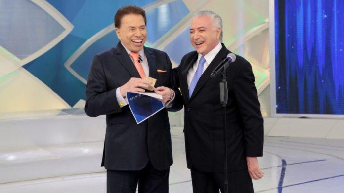 memes mais engraçados encontro entre Temer e Silvio Santos