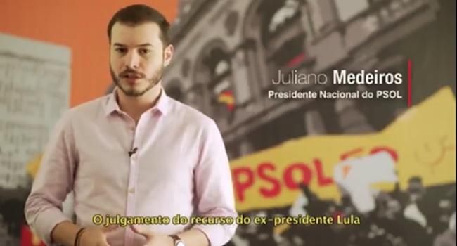 psol critica impedir candidatura lula eleições 2018