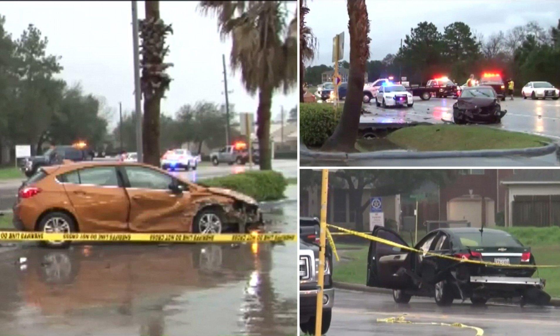 acidente Texas suicídio homem