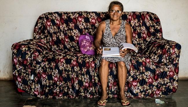 trabalhadora aprendeu a ler com método cubano vivia na escuridão