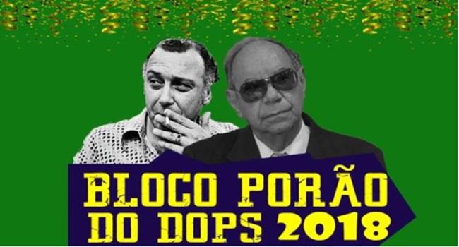 Bloco apologia à tortura é proibido desfilar ditadura militar São Paulo Direita Ustra