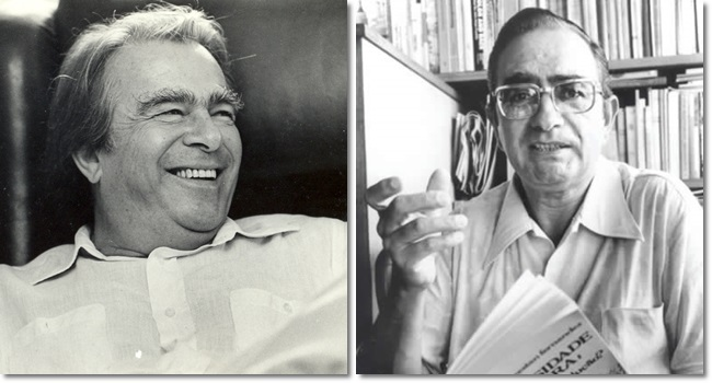 Duas figuras que nunca devemos esquecer Darcy Ribeiro Florestan Fernandes