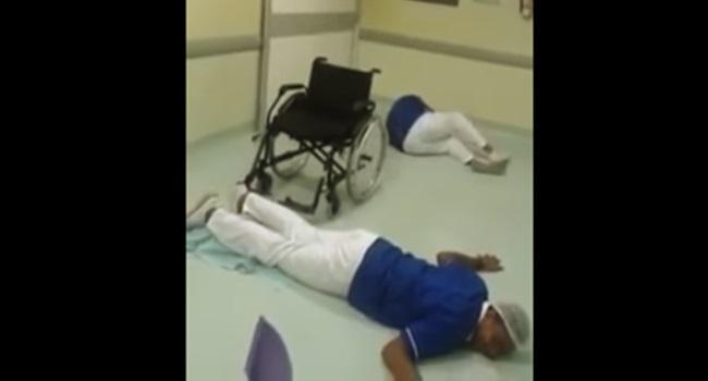 hospital demite funcionários hit que tiro foi esse dança