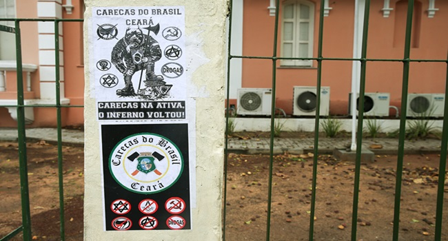 Neonazistas que atacaram jovem gay em Fortaleza Ceará carecas do brasil depor