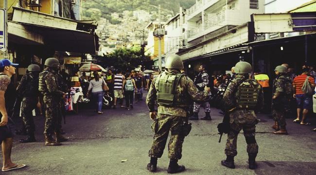 que é a intervenção militar no Rio de Janeiro