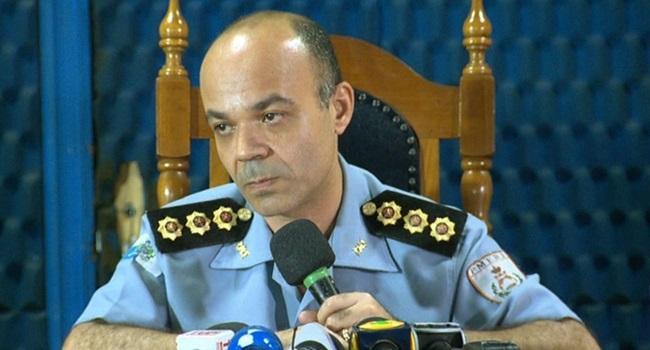 comandante geral da PM do Rio não querem ouvir intervenção