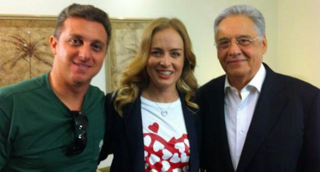 FHC à Luciano Huck Angélica PSDB Eleições 2018