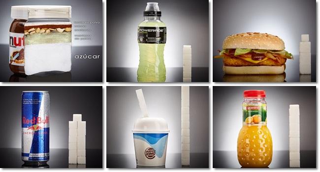 quantidade açúcar alimentos consumidos vendidos saúde