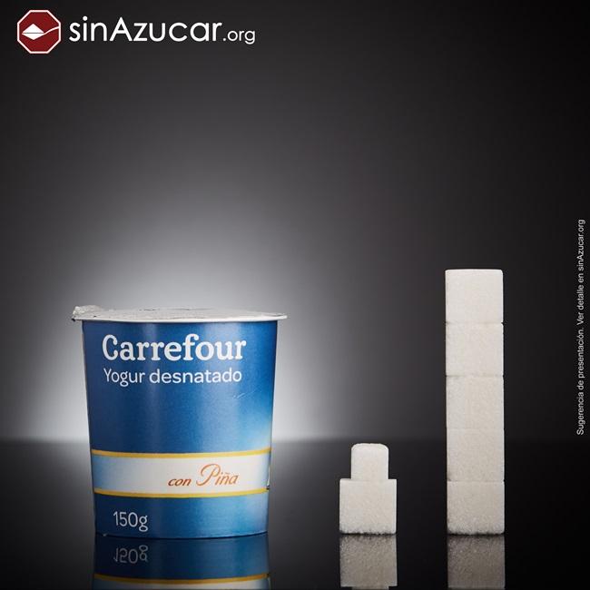 quantidade açúcar alimentos consumidos vendidos iogurte desnatado