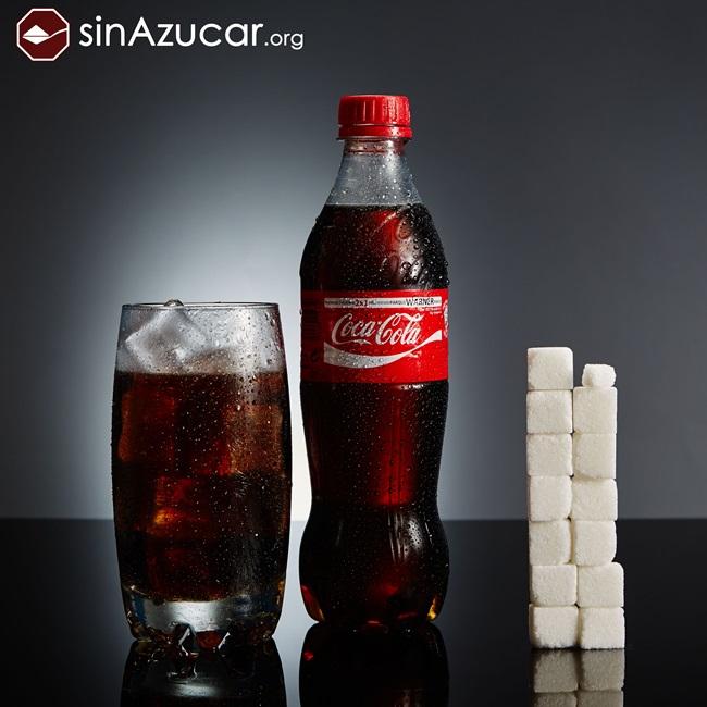 quantidade açúcar alimentos consumidos vendidos coca cola