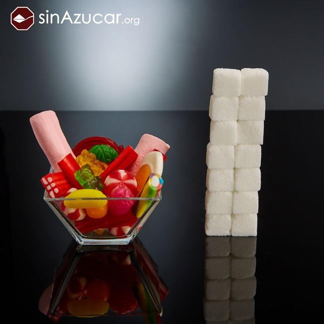 quantidade açúcar alimentos consumidos vendidos guloseimas