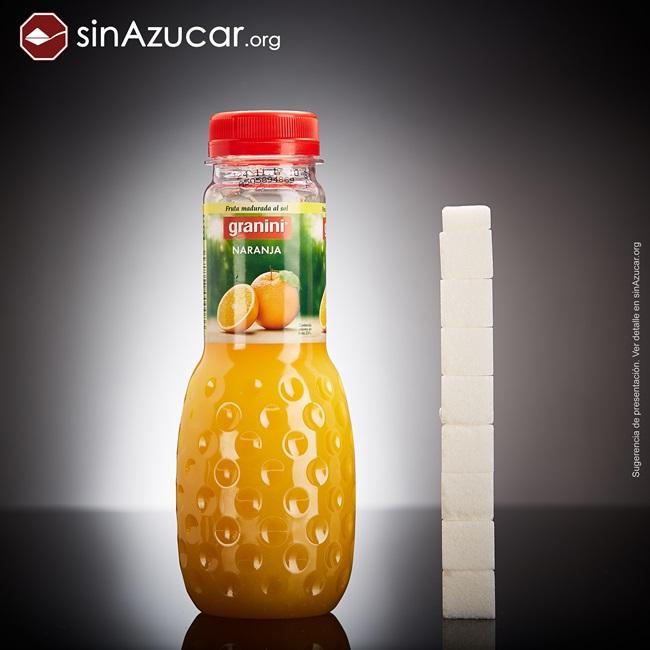 quantidade açúcar alimentos consumidos vendidos suco laranja