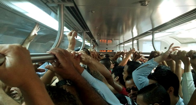 olhar de dentro do vagão trem são paulo mobilidade urbana