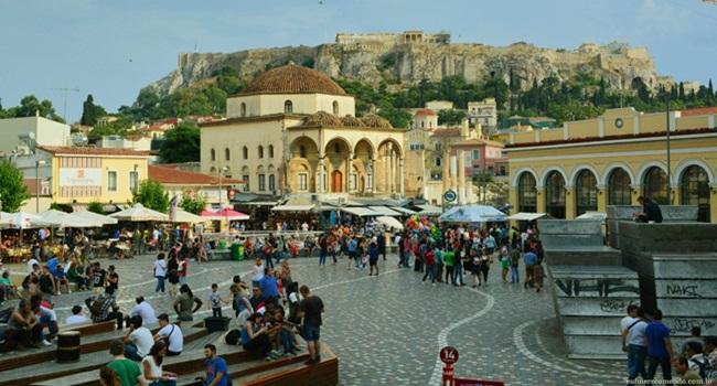 Atenas Grécia viver cidade europa adora estrangeiros