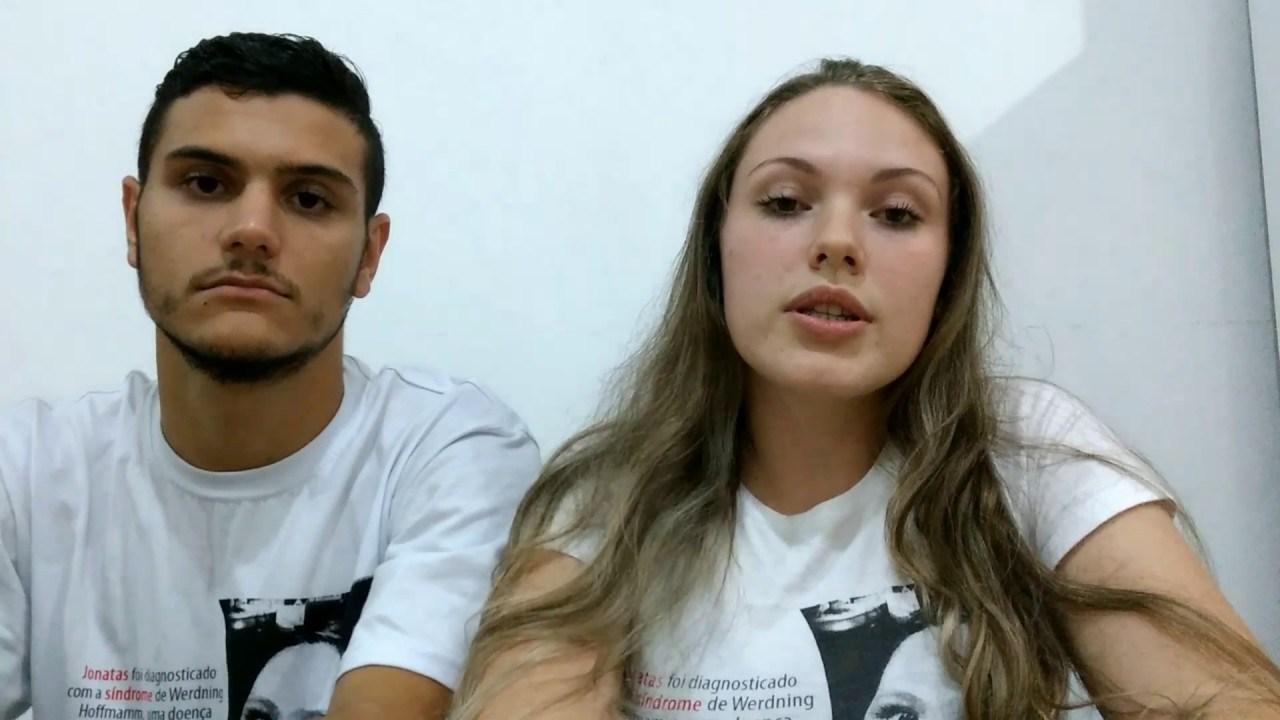 Renato e Aline Openkoski doações para filho