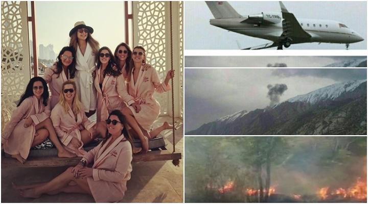 acidente avião despedida de solteira