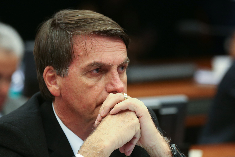 silêncio de Bolsonaro sobre morte de Marielle
