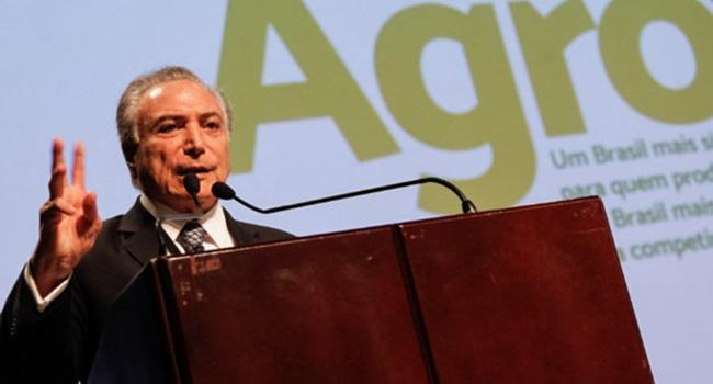 bondade de Temer com o agronegócio faz Brasil perder