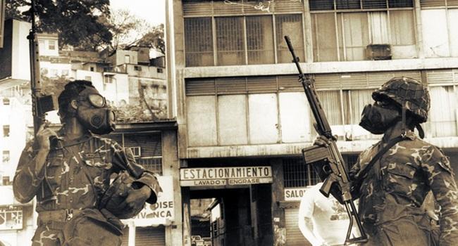 Caracazo Sacudón venezuela manifestação saques