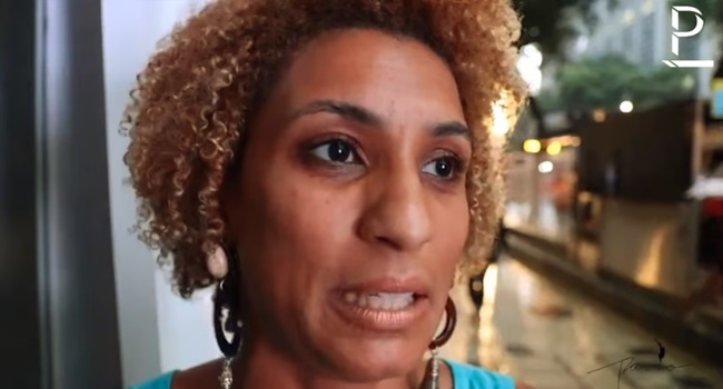 entrevista inédita com Marielle Franco vereadora assassinada
