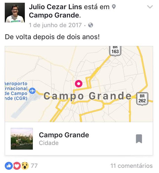 Júlio Lins Funcionário fantasma Prefeitura Manaus líder Vem pra rua