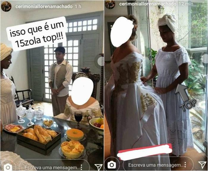 Mãe defende filha que usou negros escravizados festa de 15 anos