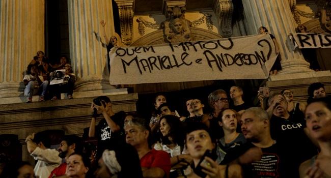 globo avança esquerda discute razão da morte de Marielle