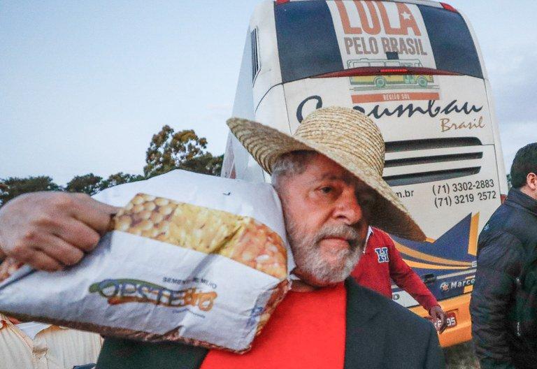 polícia federal caravana de Lula