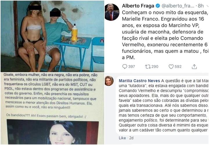 marielle franco boatos fake news