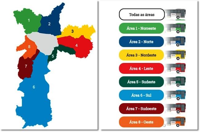 mudanças de João Doria linhas de ônibus de São Paulo