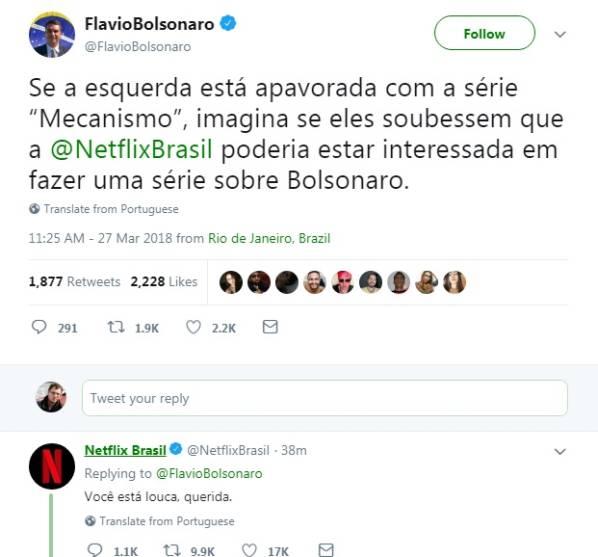 Netflix série Bolsonaro