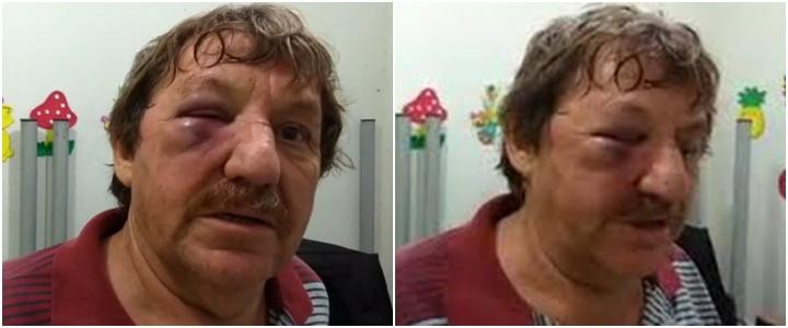 Padre Idalino agredido caravana de Lula