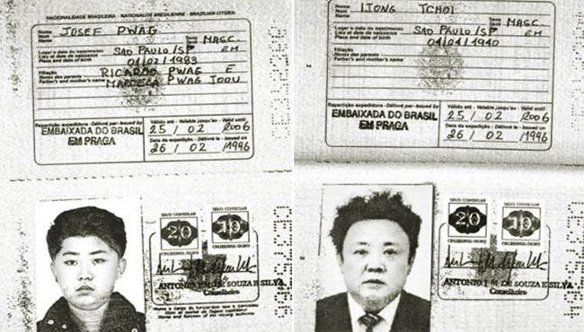 Passaporte brasileiro de Kim Jong Un