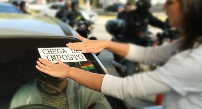 perversidade ataque aos impostos rede globo mídia desonesta