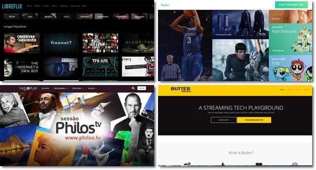 Plataformas gratuitas de filmes netflix