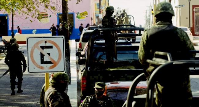 resultado intervenção militar no México tráfico de drogas