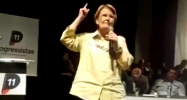 Senadora que pediu violência caravana de Lula incitação