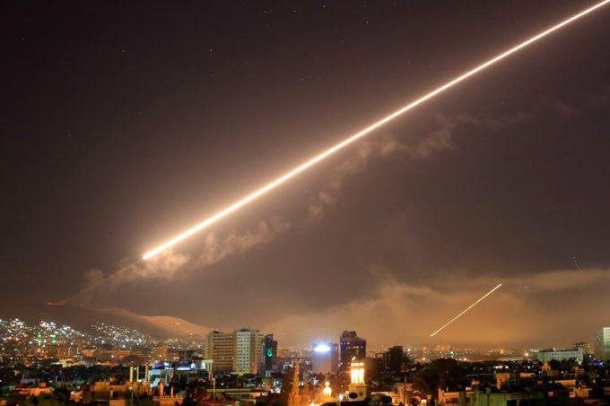 bombardeio dos EUA síria