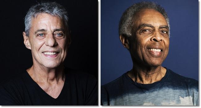 Chico Buarque e Gilberto Gil comentam a prisão de Lula