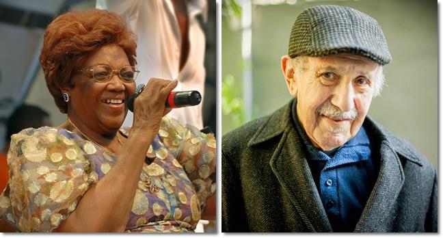 Dona Ivone Lara e Paul Singer pacífico descanso