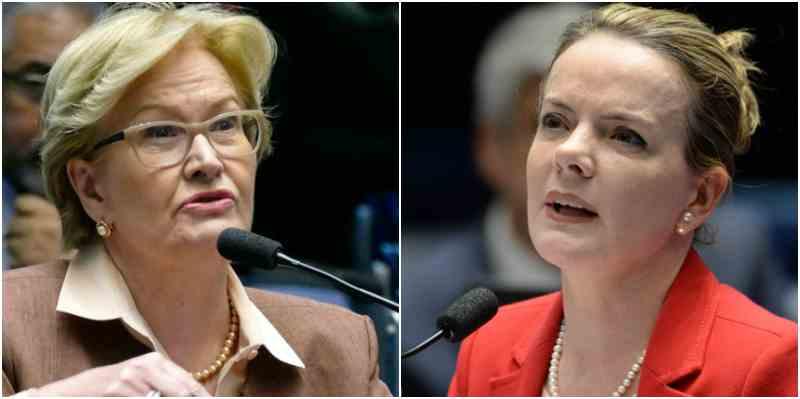 Gleisi Hofmann Ana Amélia Al Jazeera