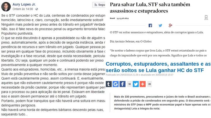 habeas corpus de Lula mitos