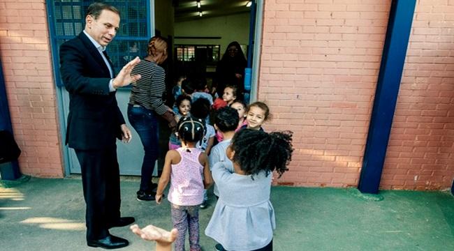 João Doria deixará prefeitura zerar fila de creches