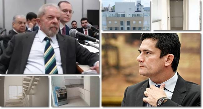 resposta Lula a Sergio Moro sobre elevador triplex reforma