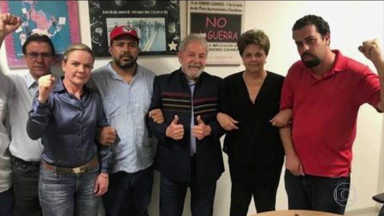 Lula PF sindicato dos metalúrgicos