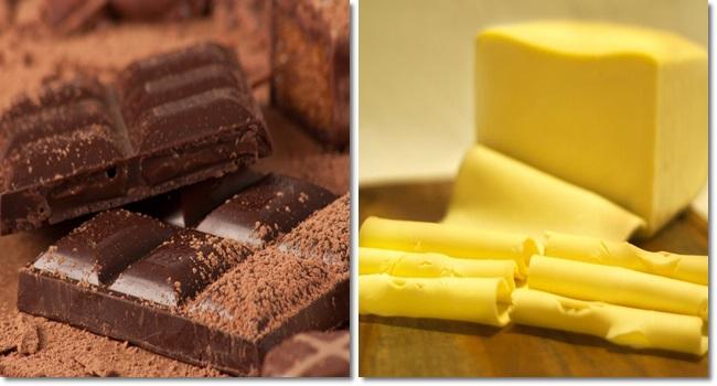chocolate queijo água proibidas pela Anvisa