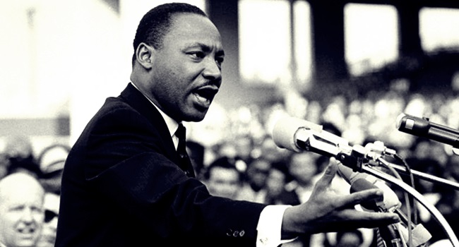 Martin Luther King presente 50 anos morte