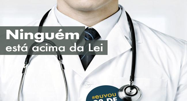 médicos manifestação contra Lula com base mentira